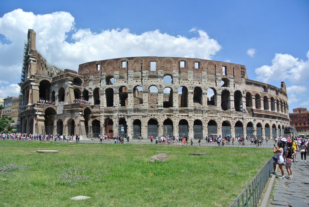 The Coliseum Rome, Italy
