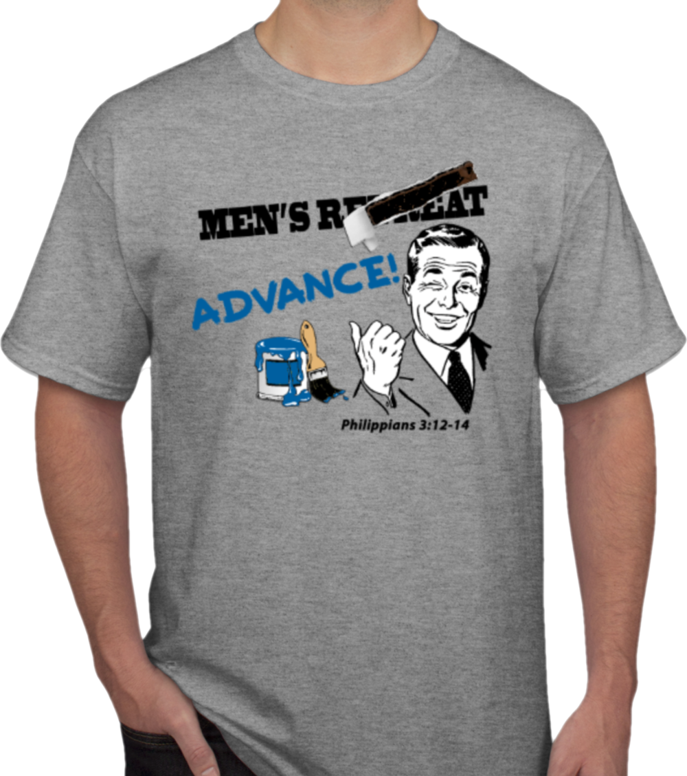 Preorder an event T-Shirt by adding this option to your registration ($12).