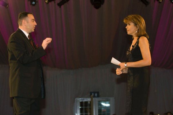 "Bill and The Today Show's Hoda Kotb launch the one billion dollar ""Campaign for Virginia Tech."""
