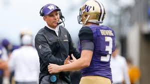 In just his third season as head coach, Chris Petersen led Washington to the College Football Playoff.