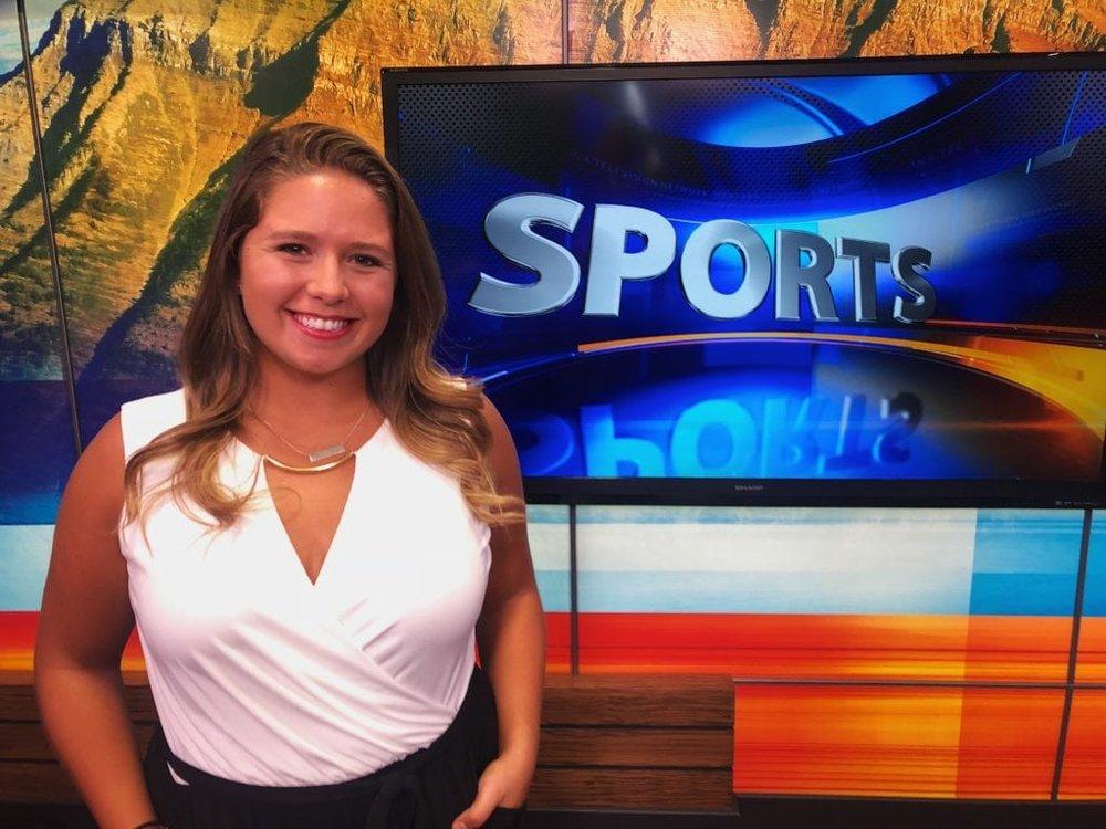 Brooke Leonard - Sportscaster, KZBK-TV, Bozeman, Montana