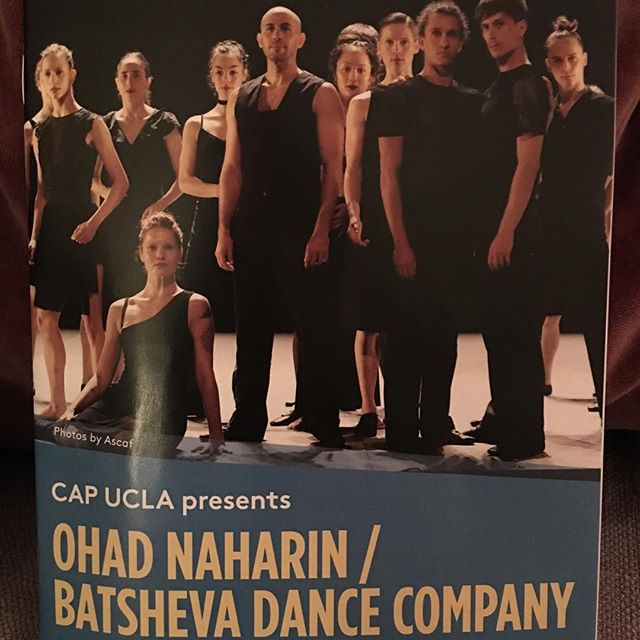 I hope I am a Batsheva dancer in my next life.  Once again #ohadnaharin & #batshevadancecompany , i am deeply bowing down 🙇🏻♀️ #capucla #venezuela