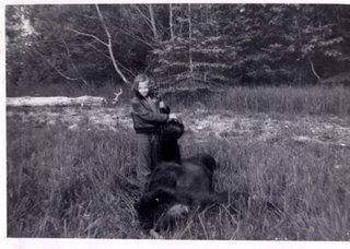 Dorothy's first bear