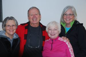 (l-r) Kathy Bracken, Mel Stockton, Sally Riemer & Susan Holmes