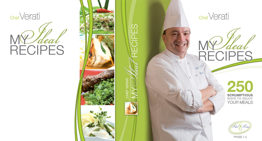 Renowned Chef Daniel Verati has more than 20 years of experience in culinary arts. He has worked in many famous restaurants all over the world and managed his own five-star restaurant. Chef Verati also taught in some of the world's most prestigious cooking schools.  For Chef Verati, this recipe book represents a dream come true. The wide variety of low-fat and low carbohydrate dishes are perfect for every day meals or for people who plan on following the Ideal Protein Weight Loss Program (from Phases 1 to 3 and the maintenance phase). Easy to follow recipes emphasize the natural flavors and textures found in ingredients with tasty and appealing results. With its vibrant design and mouth-watering images, the book is fitting for today's fast pace and promises satisfying cooking and eating experiences.  Enjoy and bon appétit!