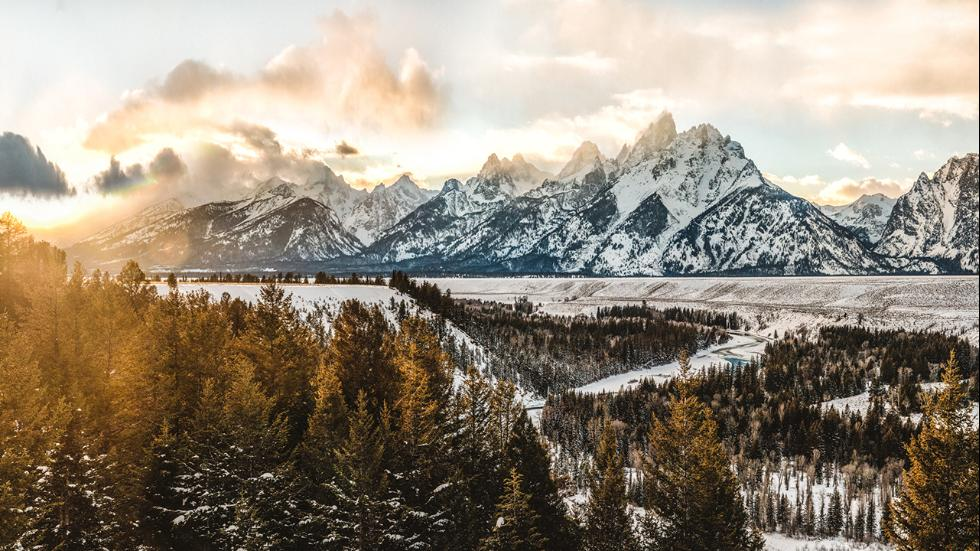 This photo was taken by Stewart at Grand Teton National Park in Wyoming.