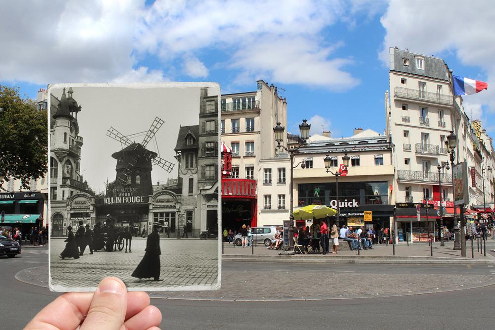 Boulevard de Clichy, 1900