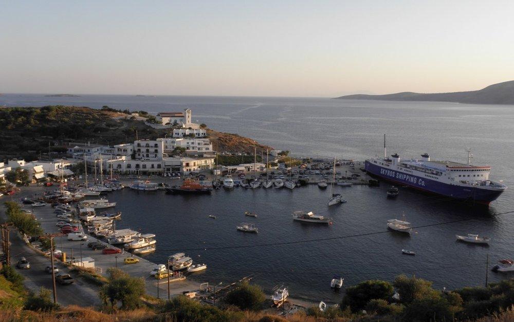Port of Linaria, Skyros