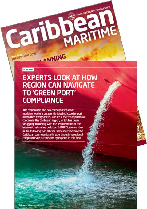Photo courtesy of  Caribbean Maritime , Issue No 33