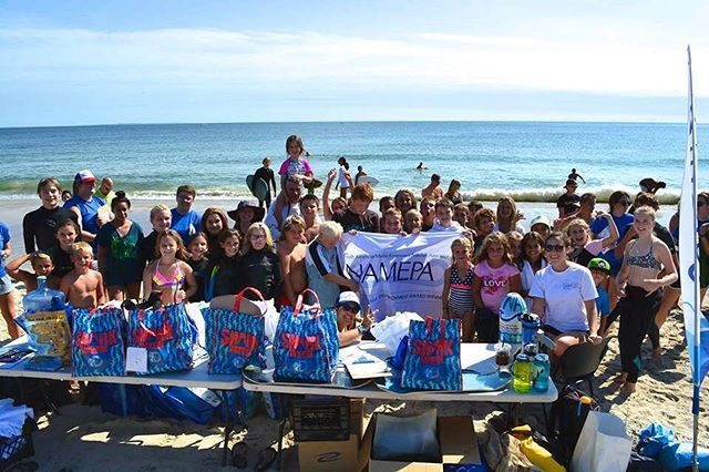 """Happy #WorldWaterDay! Join NAMEPA, The Westerly Recreation Department, and New England Science on Sailing this Saturday from 10:00 am-12:00 pm at the """"old"""" town beach in Westerly, RI for a beach clean-up! Can't make the clean-up? How else can you contribute to #SaveOurSeas this World Water Day?"""