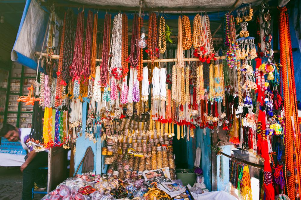 Rudraksha malas were a hot commodity around the Haridwar and Rishikesh region.