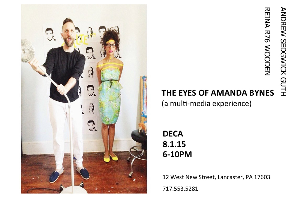 The Eyes of Amanda Bynes: A Mutli-media Experience by Artists Reina r76 Wooden and Andrew Sedgewick Guth