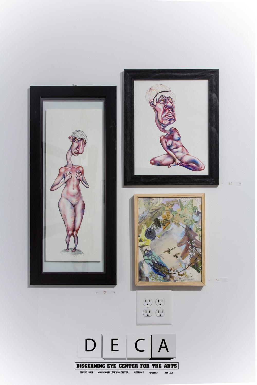 Abigale Fortnum x 2, Laura Luce