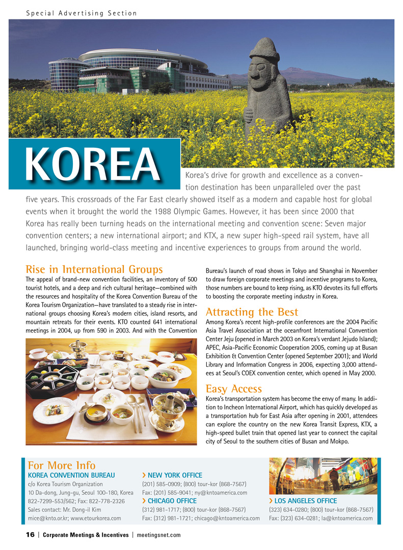 Korea Advertorial