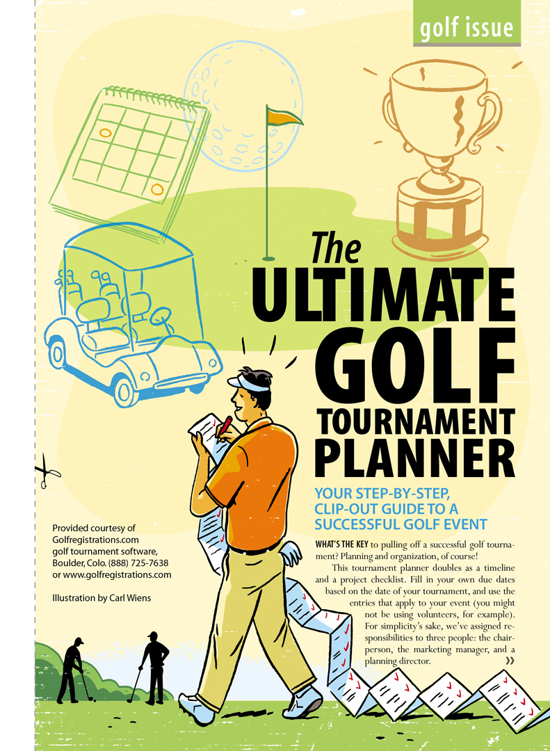 The Ultimate Golf Tournament Planner