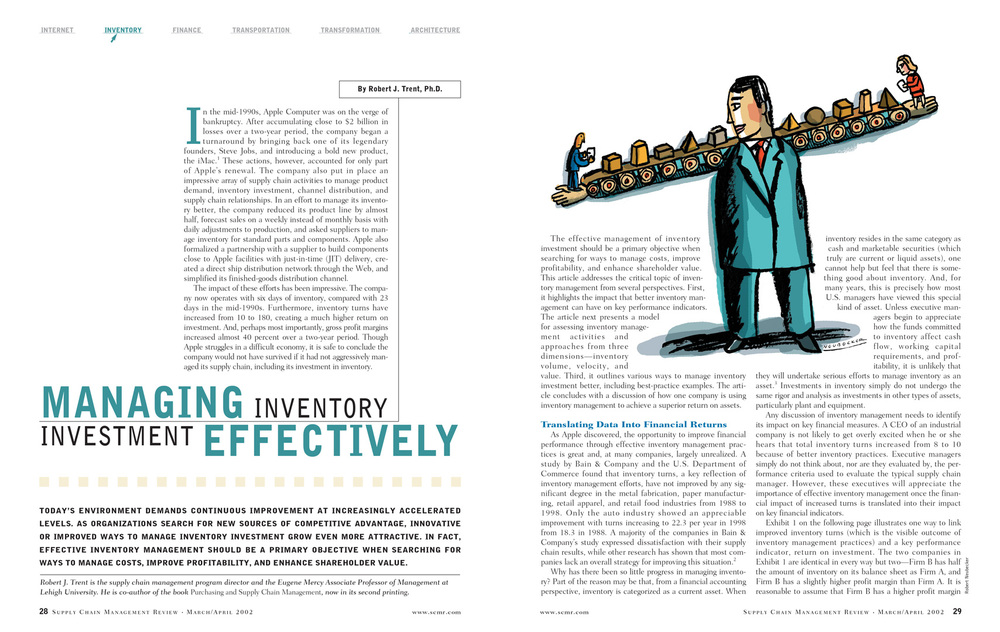 Managing Inventory Investment Effectively