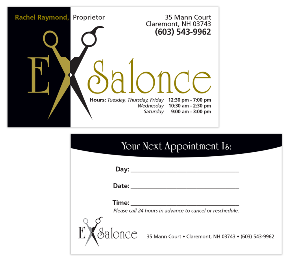 ExSalonce Business Card