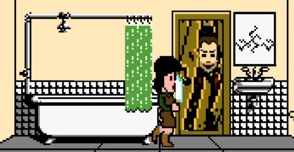 Photo: The Shining - 8 Bit Cinema (CineFix on YouTube)
