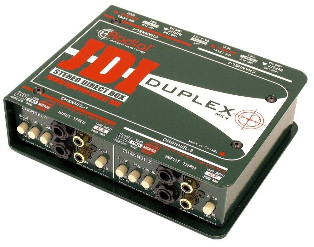 JDI Direct Stereo DI Box