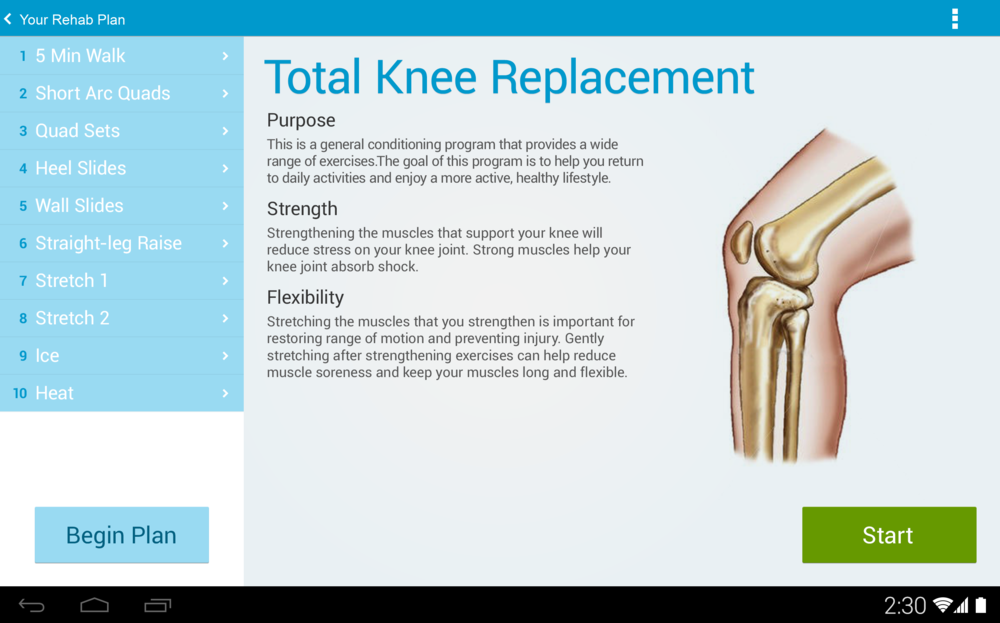 Total Knee Replacement Education Screen.png
