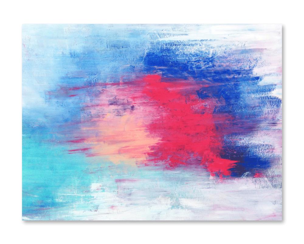"""Happy Days""    36x48 -acrylic on canvas, high gloss finish"