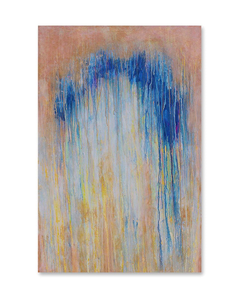 """""""Foggy Days #8""""    36x48 -acrylic on canvas, high gloss finish"""
