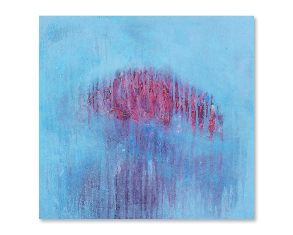 """""""Foggy Days #10""""    24x24 -acrylic on canvas, high gloss finish"""