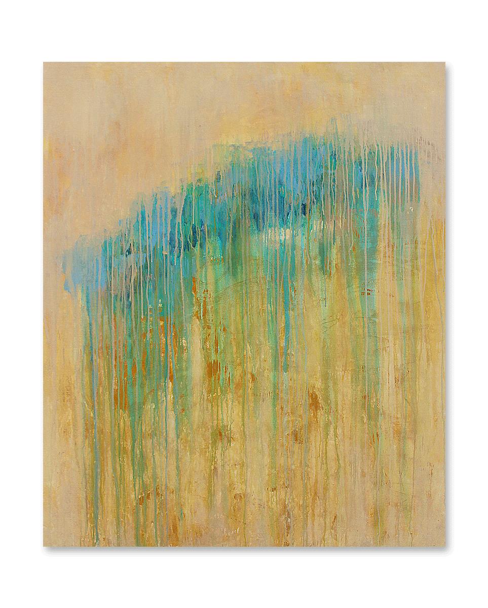 """""""Foggy Days #4""""    48x60 -acrylic on canvas, high gloss finish"""
