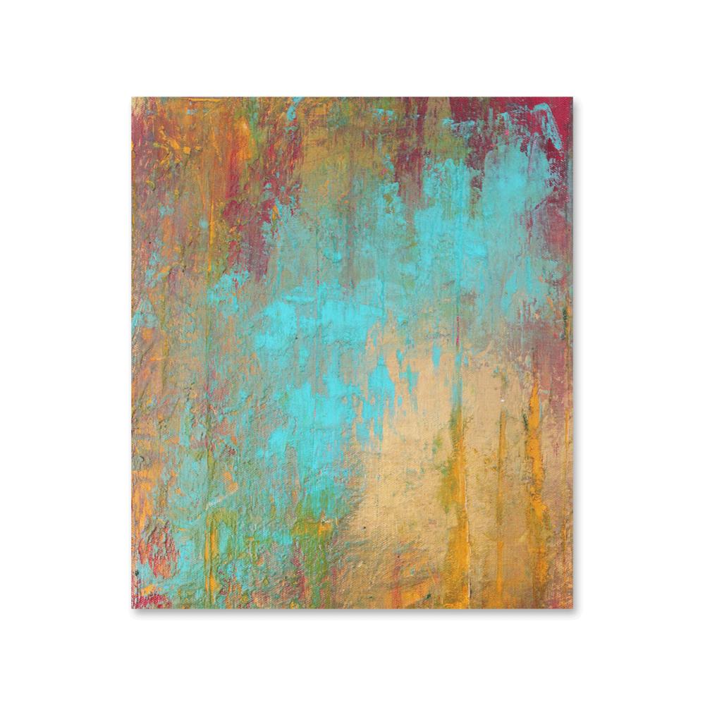 """Bursting Skies""    11x14 - acrylic on canvas, high gloss finish"
