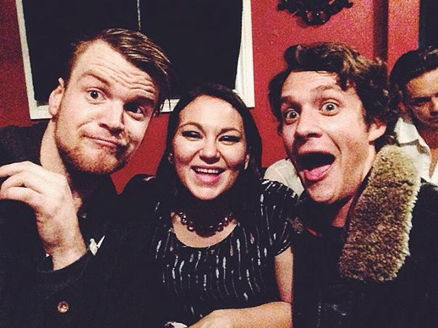 Epic selfies with @tanyatagaq a few weeks back! 🙏☺️ #toronto #live #music #goodtimes #goodpeople #danforthmusichall
