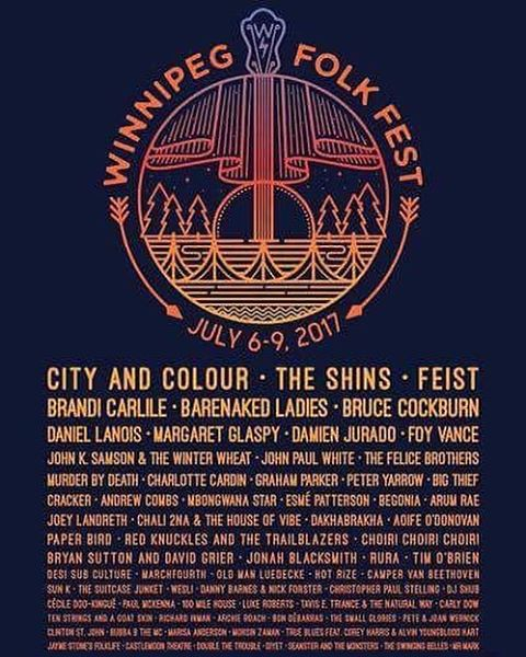 Oh hell yessss. See you this summer @winnipegfolkfestival