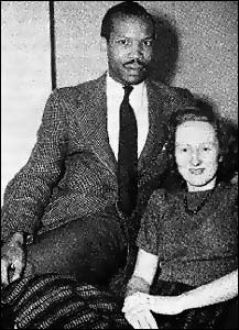 Sir Seretse Khama and wife