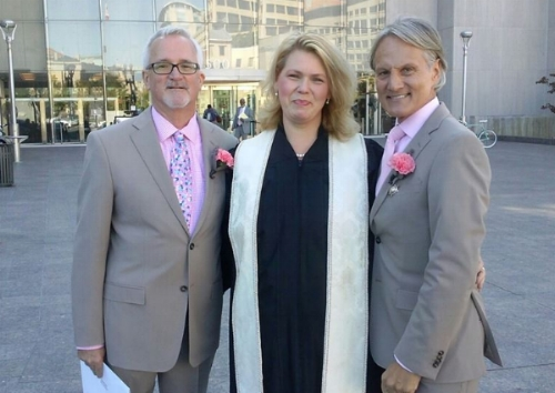 Jack and Monte married on a crisp day in DC!