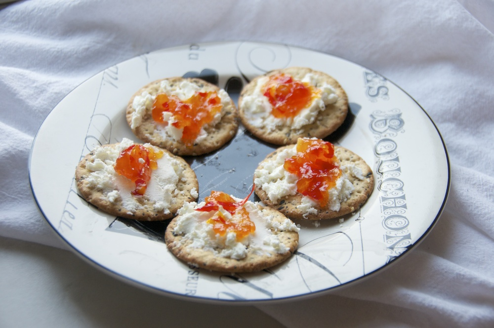 pepper jelly and goat cheese 2.jpg