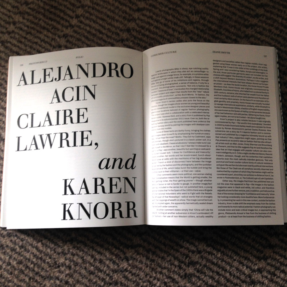 My  'Mike Project' was chosen in the open call alongside Alejandro Acin and Karen Knorr.