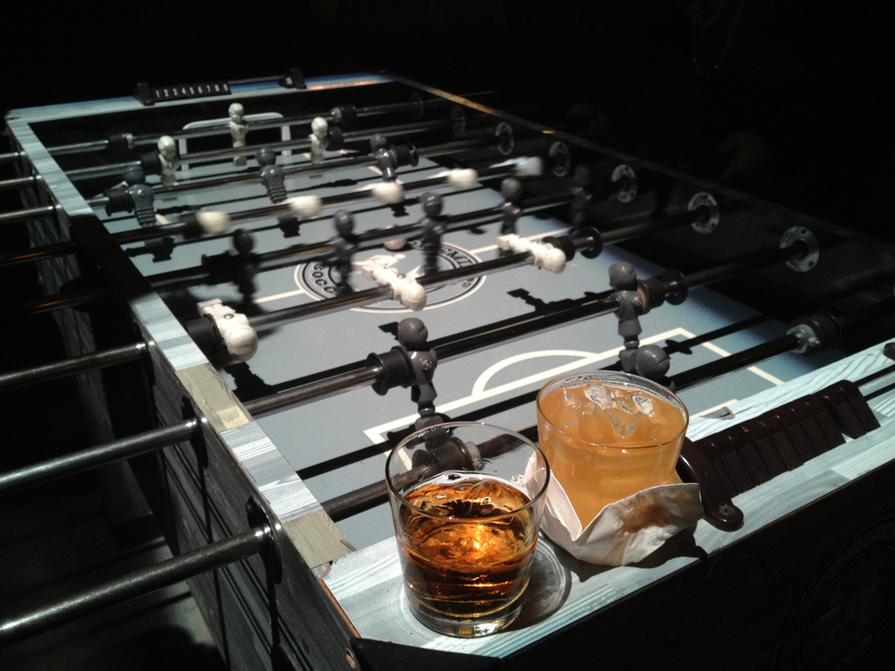 Fooseball and drinks.jpg