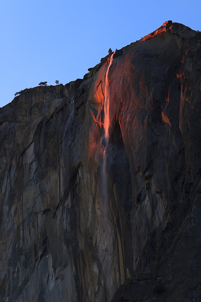 Horsetail Of Yosemite
