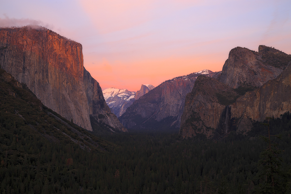 Tunnel View Twilight