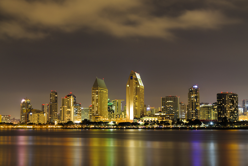 View of San Diego downtown