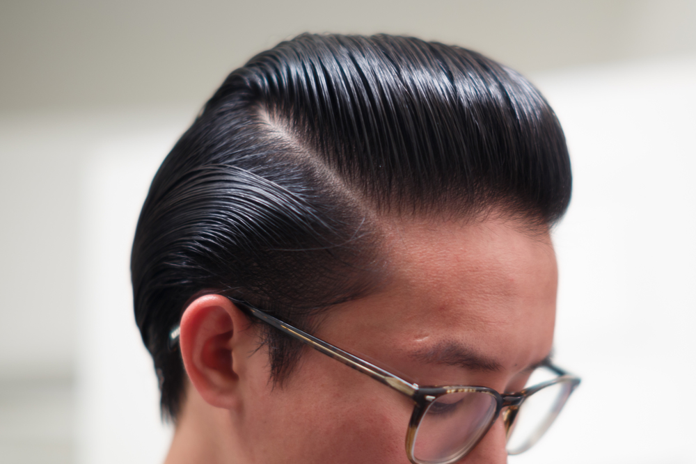 Cool Grease Blue Pomade part