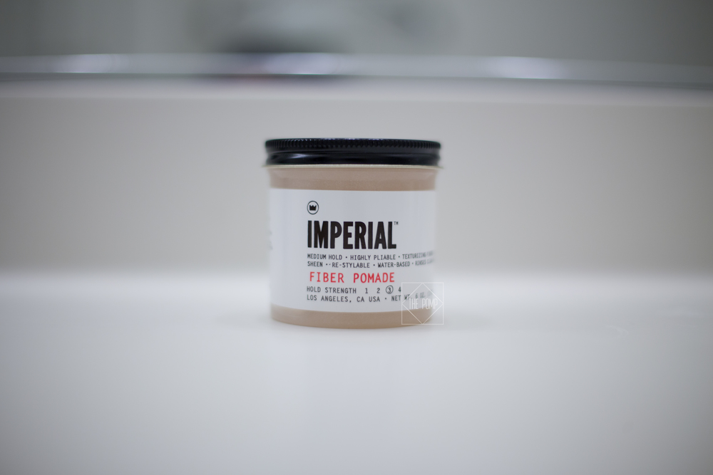 Imperial Fiber Pomade jar