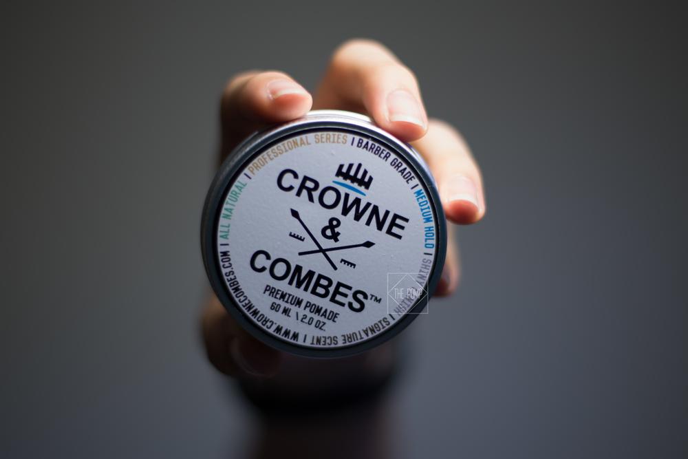 Crownes & Combes Premium Pomade jar
