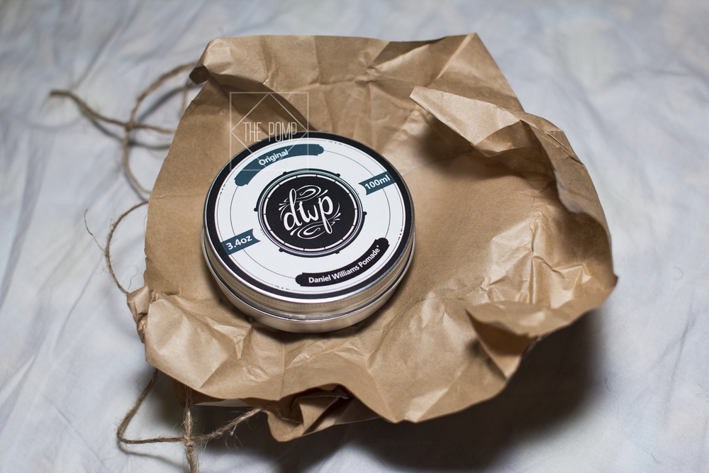 Daniel Williams Pomade Original package