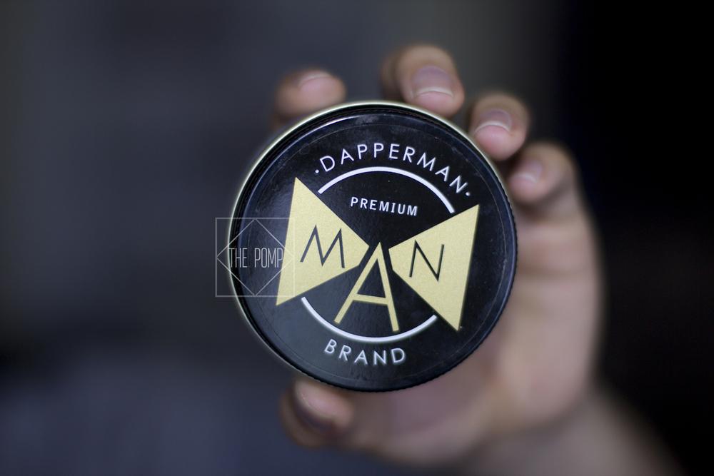 DapperMAN Premium Pomade jar