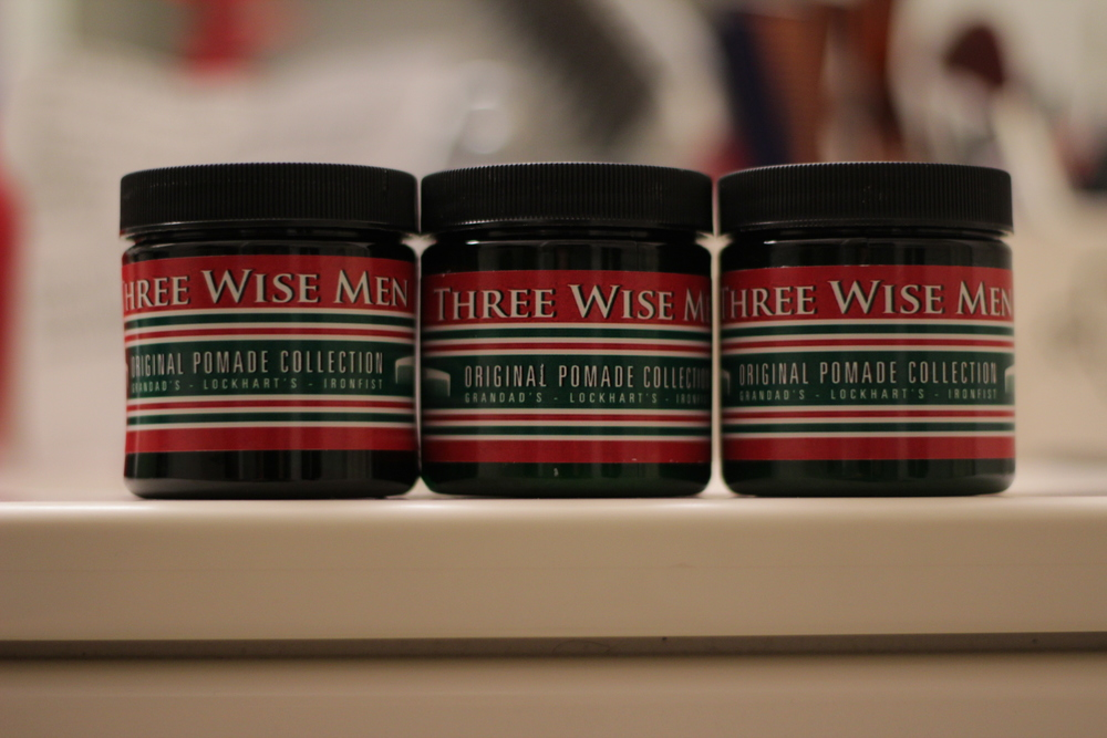 Three Wise Men Ironfist Lightweight Pomade jar