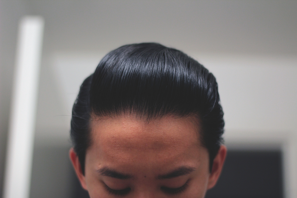 Black & White Hair Dressing Pomade - pomp