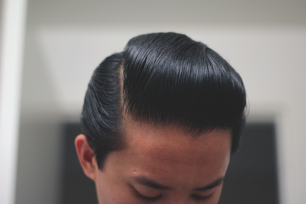 Black & White Hair Dressing Pomade - part