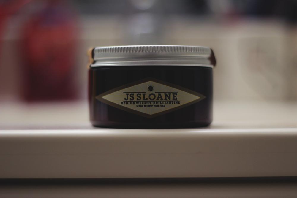 JS Sloane Mediumweight Brilliantine jar