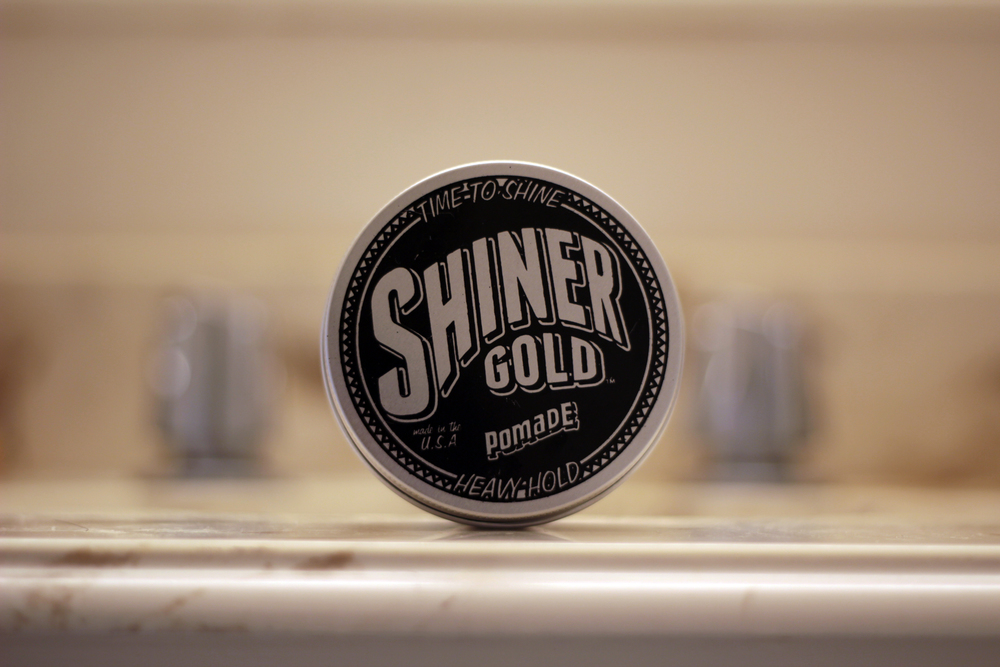 shiner gold pomade heavy hold jar