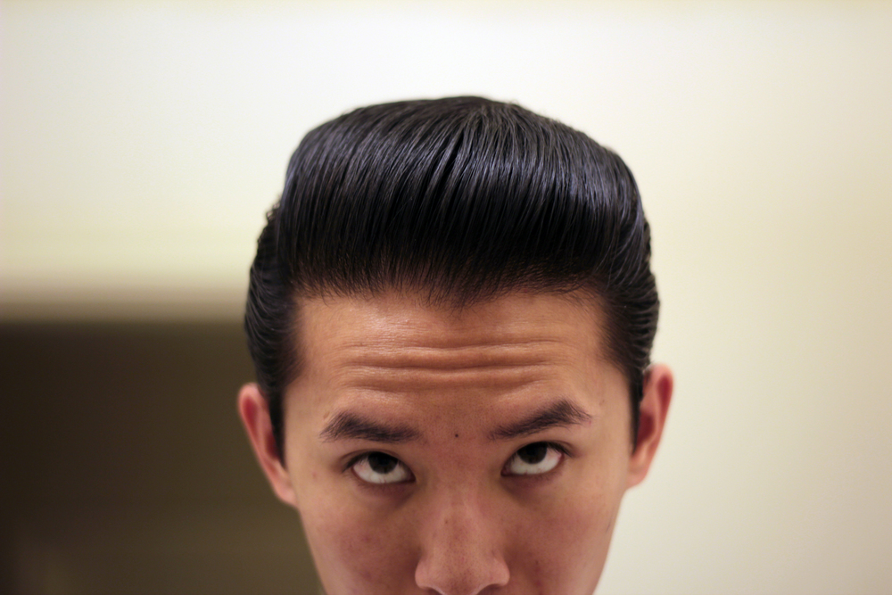 shiner gold pomade heavy hold pomp - front